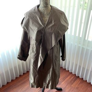 Vintage Peter Cohen hooded light weight coat